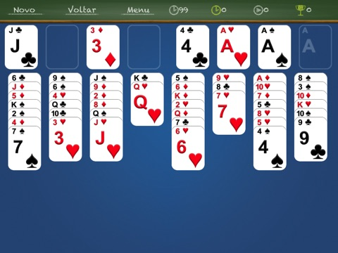 iFreeCell HD Classic - Freecell solitaire screenshot 2
