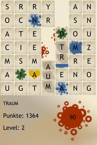 Words German - The rotating letter word search puzzle board game screenshot 3