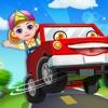 Crazy Car Dash Party - Kids Racer Games