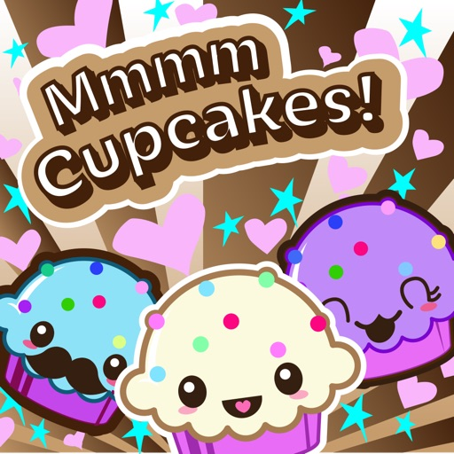 Mmmm Cupcakes! a Deliciously Cute Game of Color Conecting iOS App