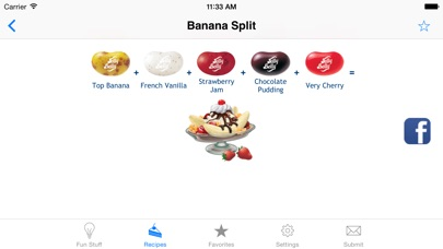 Jelly Belly Recipe Shaker iPhone
