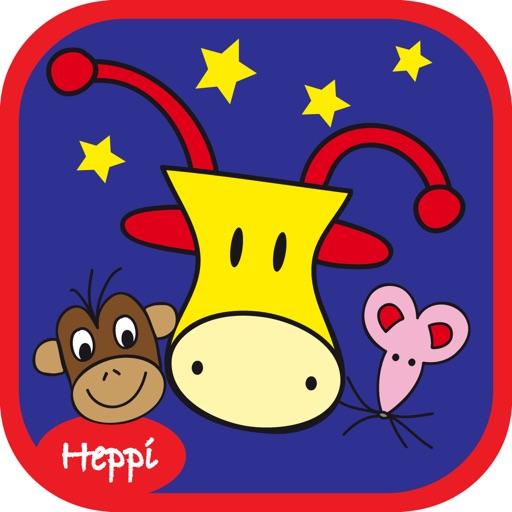 Heppi to Bed with Bo the Giraffe! iOS App