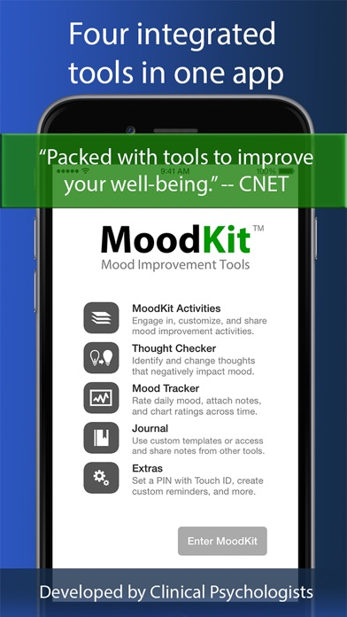 MoodKit - Mood Improvement Tools Screenshot