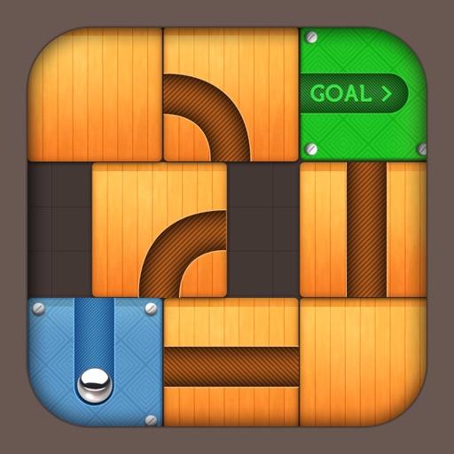 Unblock the ball: Unroll free - Amazing color dotz hexatech iOS App