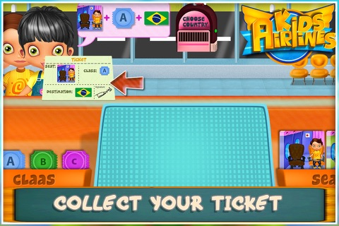 Kids Airline screenshot 1