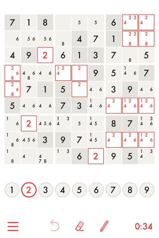 Minimal Sudoku screenshot 1