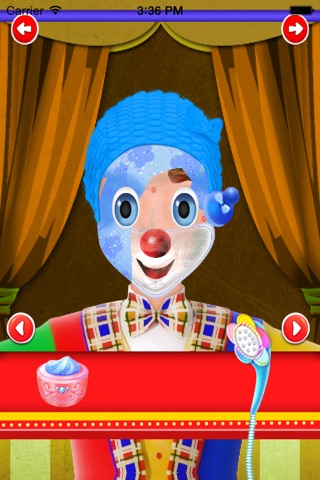 clown makeover salon screenshot 3