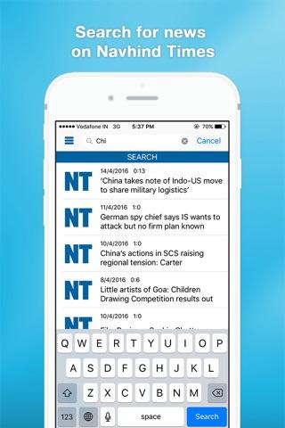 Navhind Times screenshot 3