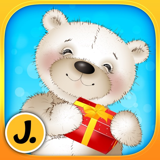 Cute Teddy Bears - puzzle game for little girls, boys and preschool kids iOS App