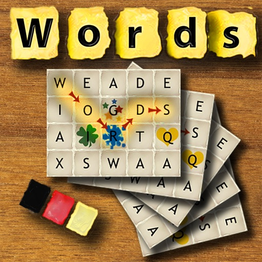 Words German - The rotating letter word search puzzle board game iOS App