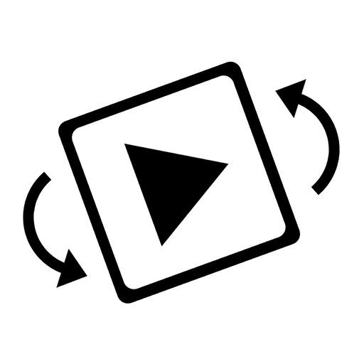 ビデオの回転