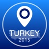 Turkey Offline Map + City Guide Navigator, Attractions and Transports