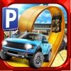 Monster Truck Parking Simulator Game - Real Car Driving Test Sim Racing Games