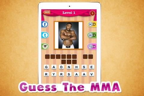 """2015'' Free Trivia -Guess The MMA screenshot 2"