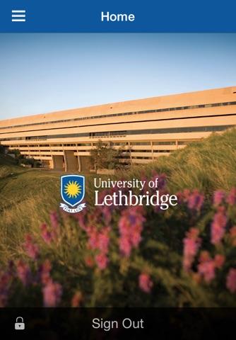 University of Lethbridge Mobile screenshot 1
