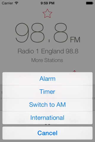 RadioApp - A simple radio for iPhone and iPod touch screenshot 2