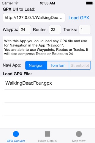 GPX2Nav Route Converter by Ernst Reiter Consulting