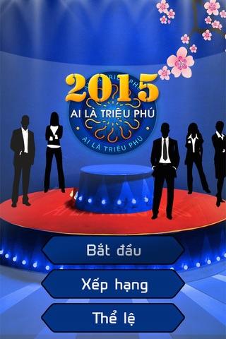 Ai la trieu phu 2015 (10.000 cau hoi) screenshot 1