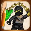 Aprender a desenhar lego ninjago edição combatentes