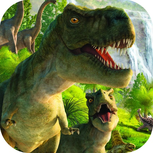 Adventure of Lost Dino Las Vegas Slot Machine iOS App
