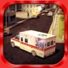 Krankenwagen-Simulator 3D - Patienten, die Notfallrettung und Krankenhausliefer sim - Test echte Autofahren, Parkplätze und Fahrkünste