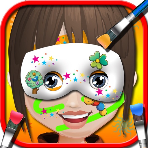 Baby face art salon - Free game for girls kids face decor, painting, fashion & tattoos iOS App