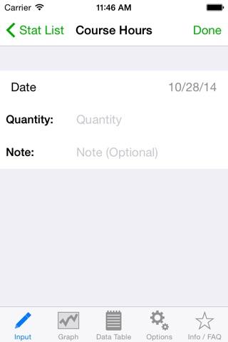 Stat App screenshot 4