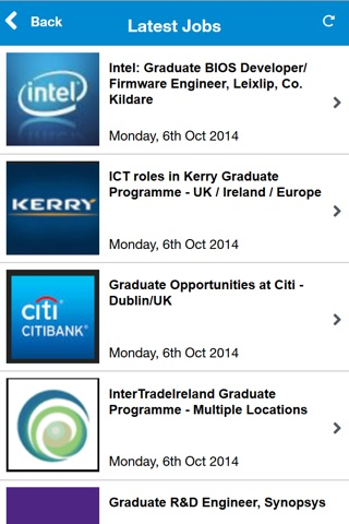Grad Jobs Ireland screenshot 2