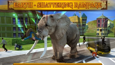 Screenshot #3 pour Angry Elephant Attack 3D