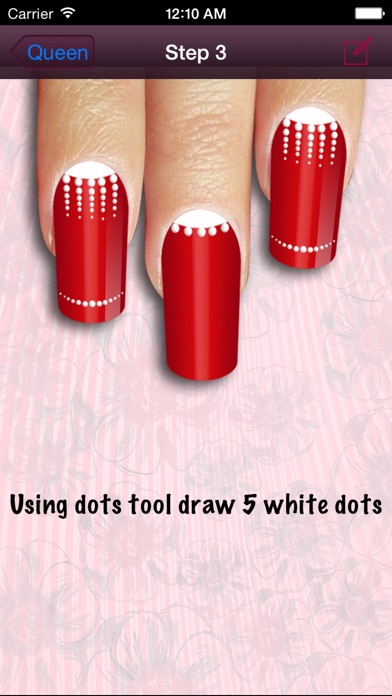 Cool nail art nail design tutorials on the app store iphone screenshot 3 prinsesfo Images
