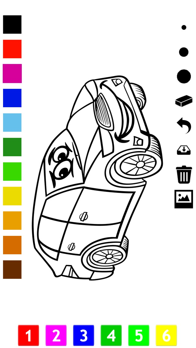 download A Cars Coloring Book for Boys: Learn to Color Pictures of Vehicles apps 2
