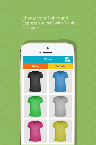 T-Shirt Designer Tool App screenshot 1