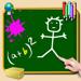 Tableau d'école pour iPhone et iPod : Ecrivez et dessinez en couleur, même sur vos photos !