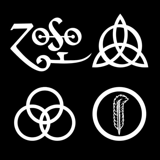 Zoso Jimmy Pages Emblem  symboldictionarynet