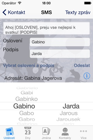 Svatek screenshot 2