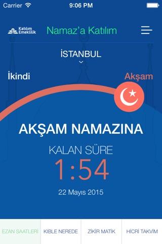 Namaz'a Katılım screenshot 2