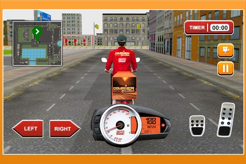 3D Courier Boy Simulator - Best courier, postal service and rider simulation game screenshot 4
