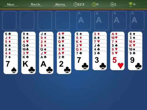 iFreeCell HD Classic - Freecell solitaire screenshot 1