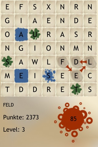Words German - The rotating letter word search puzzle board game screenshot 4
