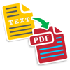 Text to PDF : Batch Convert Text Documents into PDF