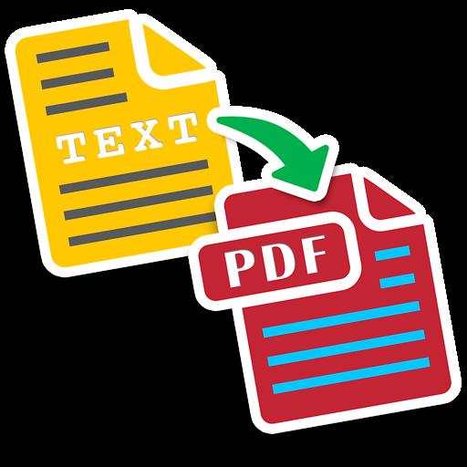 Text to PDF : Batch Convert Text Documents into PDF