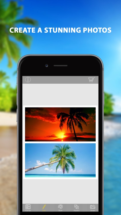 Panorama Plus - Photo collage maker & picture frames editor app for ...
