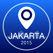 Jakarta Offline Map + City Guide Navigator, Attractions and Transports