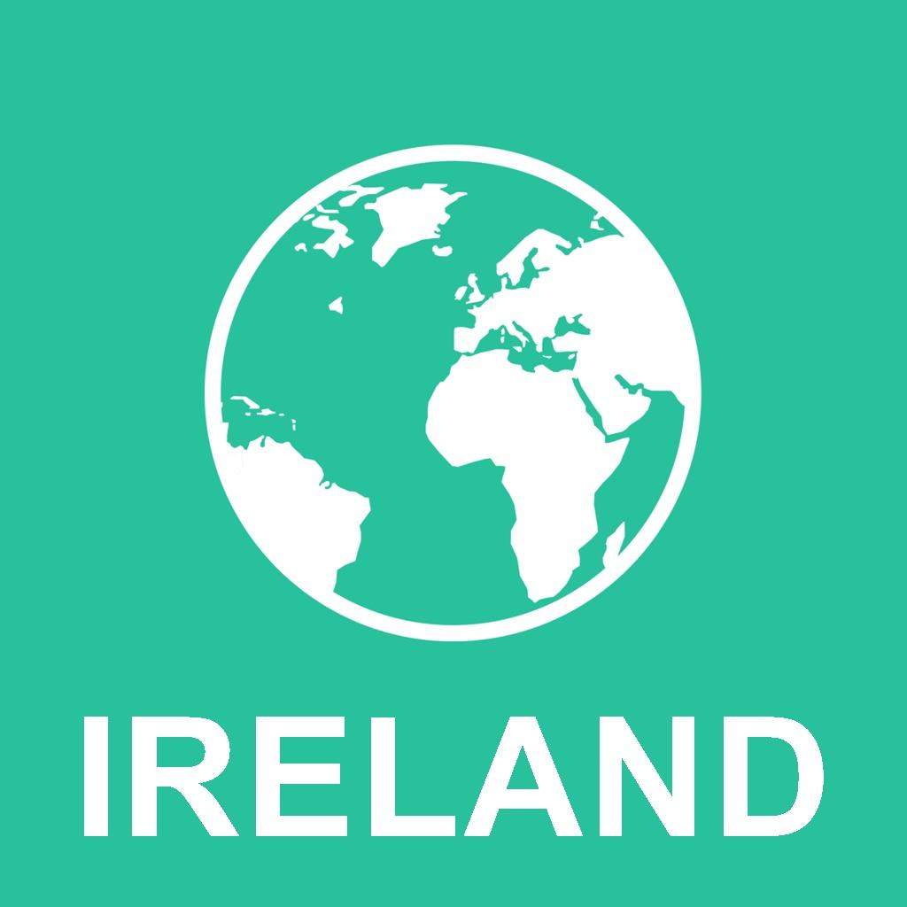 爱尔兰 离线地图 : 对于旅游