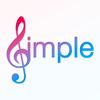 Simple Music - teclado musical de próxima generación con grandiosos sonidos de piano, guitarra y pads, y midi