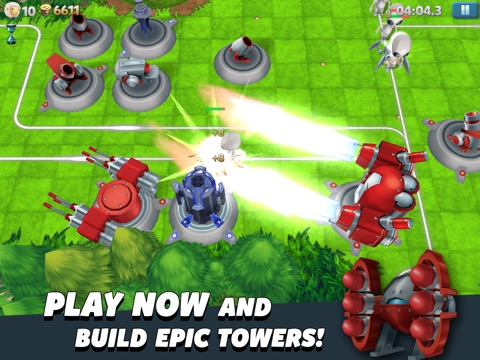 Screenshots of Tower Madness 2: #1 in Great Strategy TD Games for iPad