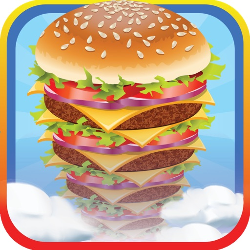 Sky Burger Chef Mania - Free cooking game for baby girls and boys iOS App
