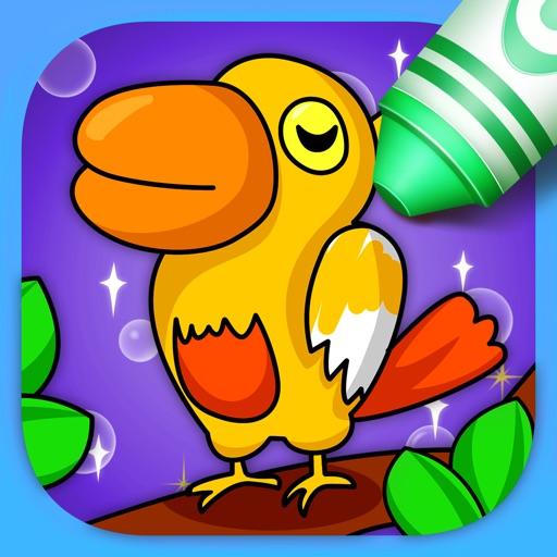 ABC Paint Book - Kids Color: Animal Art iOS App
