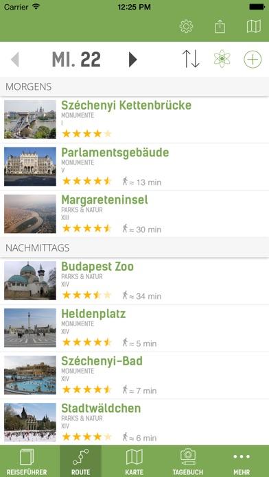 Budapest Reiseführer (mit Offline Stadtplan) Screenshot