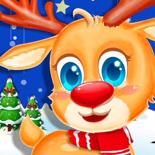 Santa's Reindeer Dress Up Salon iOS App